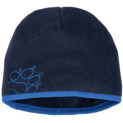 Czapka zimowa dla dzieci BAKSMALLA FLEECE HAT KIDS midnight blue - S