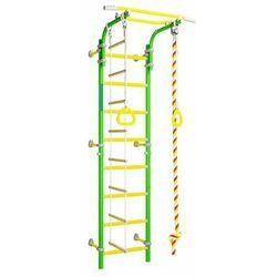WALLBARZ - EG-KSK-002G - Drabinka gimnastyczna Family 2W zielona - zielony