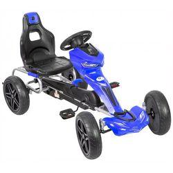 Gokart na pedały KIDZ MOTION Raptor 2 jeździk dla dzieci 5-12 lat Niebieski + DARMOWY TRANSPORT!