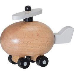 Zabawka samolot vigga z drewna