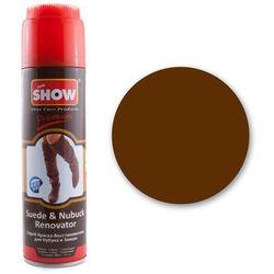 Renowator koloru do butów z zamszu i nubuku - brązowy - Brązowy