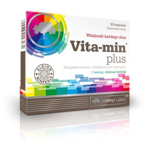 Witaminy i minerały, Olimp Vita-Min Plus dla kobiet 30 kaps.