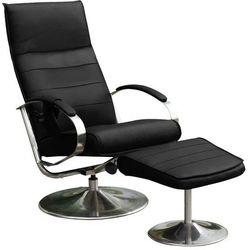 Fotel masujący z podnóżkiem Chrodis