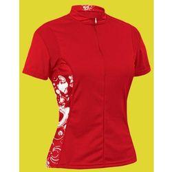 WYPRZDAŻ Koszulka damska AUTHOR ASL-X-2B czerwona S