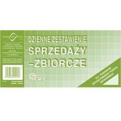 Dzienne zestawienie sprzedaży, zbiorcze, Offset 1/3 A4 Michalczyk i Prokop - G1246