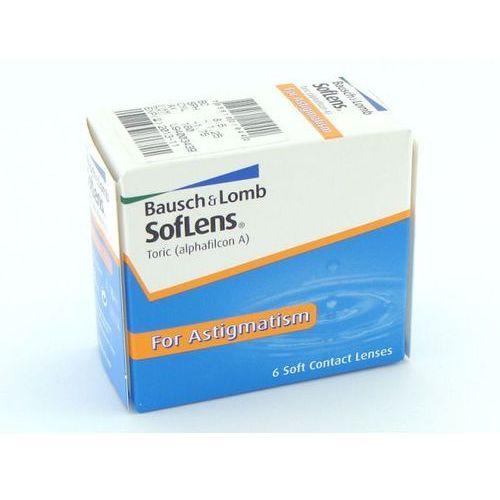 Soczewki kontaktowe, SofLens Toric, 6szt.