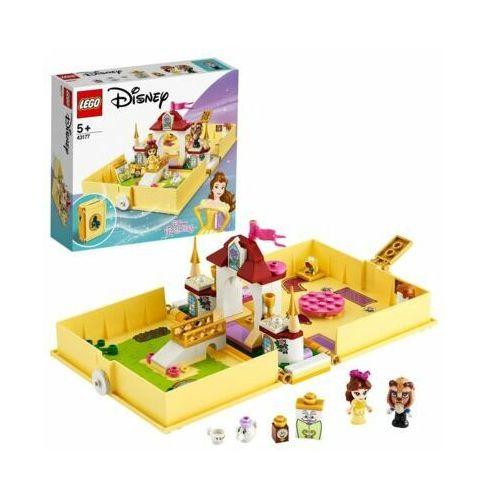 Klocki dla dzieci, Klocki LEGO Disney Princess 43177 Książka z przygodami Belli