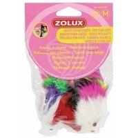 Pozostałe zabawki, Zolux Trzy myszki z piórami [480424]