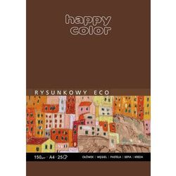 Blok rysunkowy ECO A4, 25 ark, Happy Color