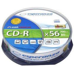 Płyty Esperanza CD-R 700MB 56x - Cake - 10szt.