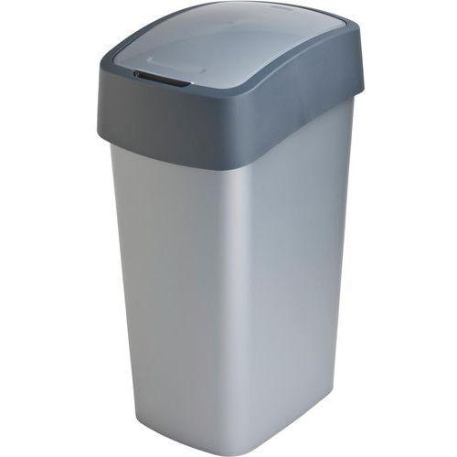 Kosze na śmieci, Kosz do segregacji śmieci FLIP BIN 50l szary