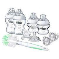 Butelki do karmienia, Zestaw startowy dla noworodka Tommee Tippee (natural)