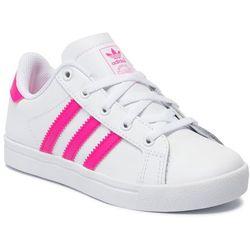 Buty adidas - Coast Star C EE7490 Ftwwht/Shopnk/Ftwwht
