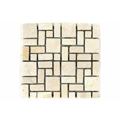 Mozaika marmurowa divero 1m² kremowa