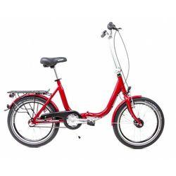 Aluminiowy rower składany SKŁADAK niska rama MIFA 3-biegi SHIMANO NEXUS biały