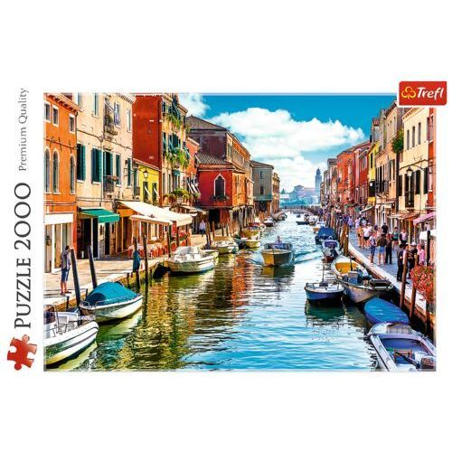 Puzzle, Puzzle 2000 elementów Wyspa Murano