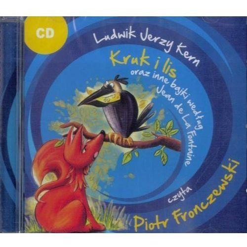 Książki dla dzieci, Kruk i lis oraz inne bajki według...CD MP3