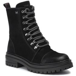Trapery WRANGLER - Courtney Combat WL92661A Black 062