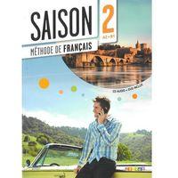 Książki do nauki języka, Saison 2 podręcznik + CD Audio + DVD poziom A2-B1 (opr. miękka)