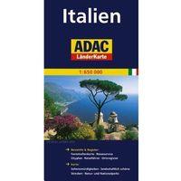 Mapy i atlasy turystyczne, Itálie/mapa1:650T ADAC Jenny Broomová (opr. broszurowa)