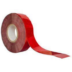 Taśma odblaskowa konturowa czerwona - cała rolka