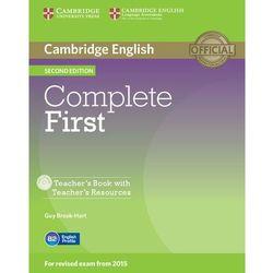 Complete First 2nd Edition. Książka Nauczyciela + CD (opr. miękka)