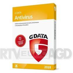 G Data AntiVirus 2018 3PC/12m-cy BOX