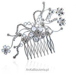 Biżuteria ślubna Grzebień do włosów