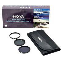 Filtry do obiektywów, Zestaw filtrów Hoya 49mm UV(C) + CPL + NDx8 + Saszetka