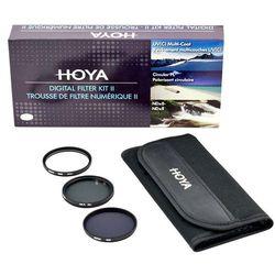 Zestaw filtrów Hoya 62mm UV(C) + CPL + NDx8 + Saszetka