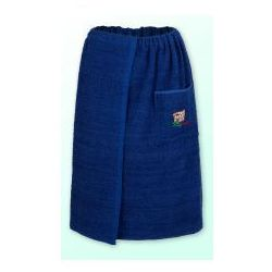 Sauna kilt ręcznik granat 100% bawełna uniwersalny 70*140 z logo