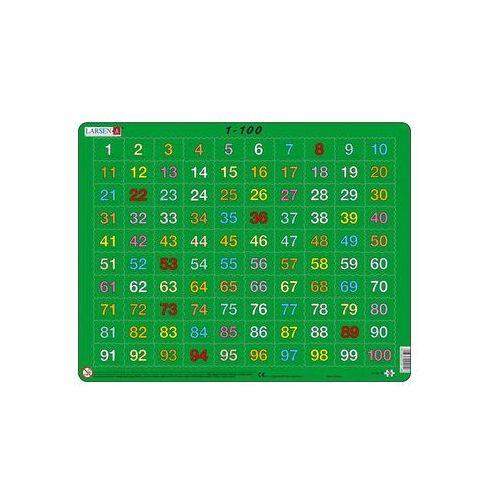 Puzzle, Puzzle MAXI - 1-100 /100 dílků neuveden