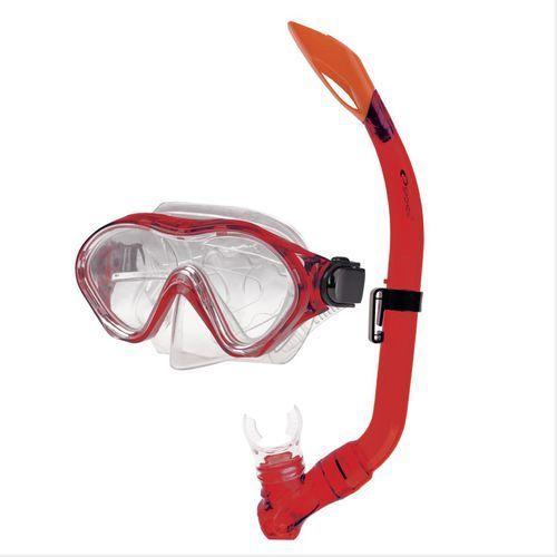 Maski, płetwy i fajki, Zestaw do nurkowania SPOKEY Cayman Junior 83620 Niebieski