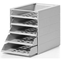 Pojemnik z 5 szufladami Durable Idealbox Basic szary 1712003050