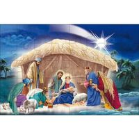 Muzyka religijna, Puzzle religijne na Boże Narodzenie