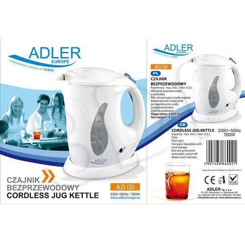Czajniki elektryczne, Adler AD 02