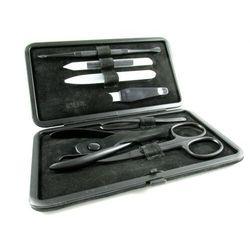 TEFLON BLACK - 7-częściowy, TEFLONOWO-SZKLANY zestaw do manicure, SOLINGEN-Kiehl