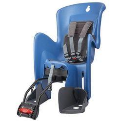 POLISPORT fotelik rowerowy Bilby RS, niebieski/szary
