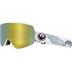 gogle snowboardowe DRAGON - Dr Nfx2 Two Prey Llgoldion+Lldksmk (100) rozmiar: OS