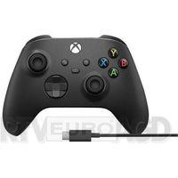 Akcesoria do Xbox 360, Microsoft Xbox Series Kontroler bezprzewodowy + kabel USB-C (carbon black)