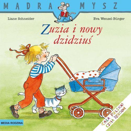 Książki dla dzieci, Zuzia i nowy dzidziuś (opr. miękka)