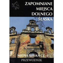 Zapomniane miejsca Dolnego Śląska Nizina śląska Część 1 + zakładka do książki GRATIS (opr. broszurowa)