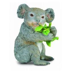 Miś Koala, jedzący liście eukaliptusa - minifigurka - COLLECTA