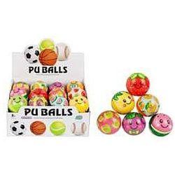 Piłka antystresowa mix wzorów owoce