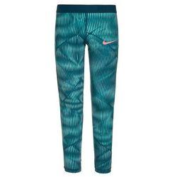 Nike Performance PRO HYPERCOOL ALLOVER Legginsy light aqua/space blue/sunblush