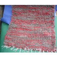 Chodniki, Chodnik bawełniany ręcznie tkany szaro-ceglasty 50x100 (k-19)