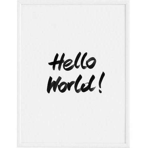 Plakaty, Plakat Hello World! 50 x 70 cm