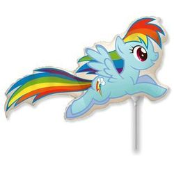 BALON FOLIOWY RAINBOW DASH MY LITTLE PONY 14'' 1szt