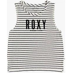 koszulka ROXY - Areyougonnafrie Anthracite Zoupla Horizontale (XKWW) rozmiar: S