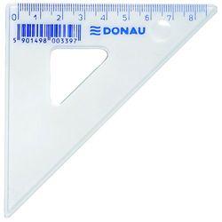 Ekierka DONAU, mała, 10cm, 45°, transparentna